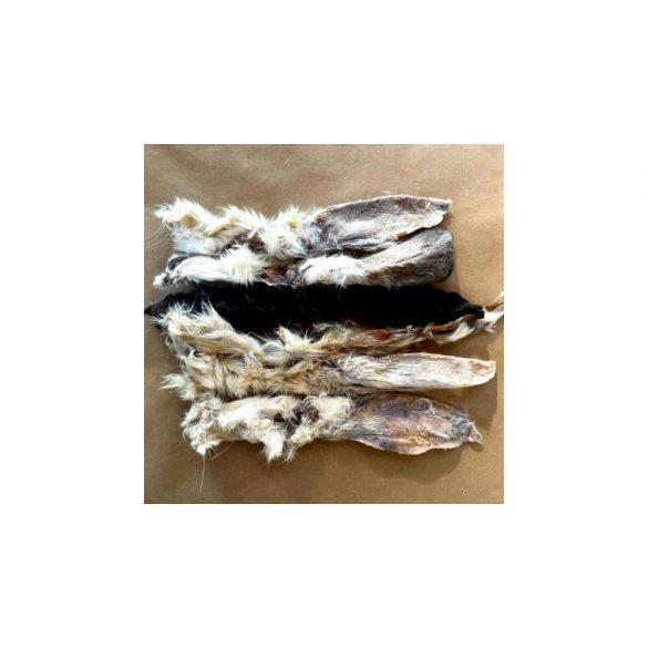 BARF LOVE - Szárított szőrös nyúlfül - 6db