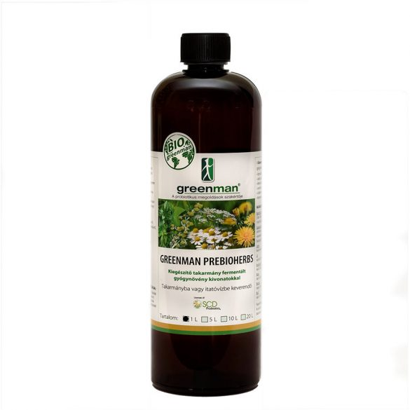 GREENMAN - PreBioHerbs - 0,5/1/5 liter